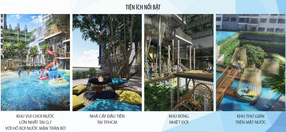Tien ich - Dự án căn hộ The Infinity