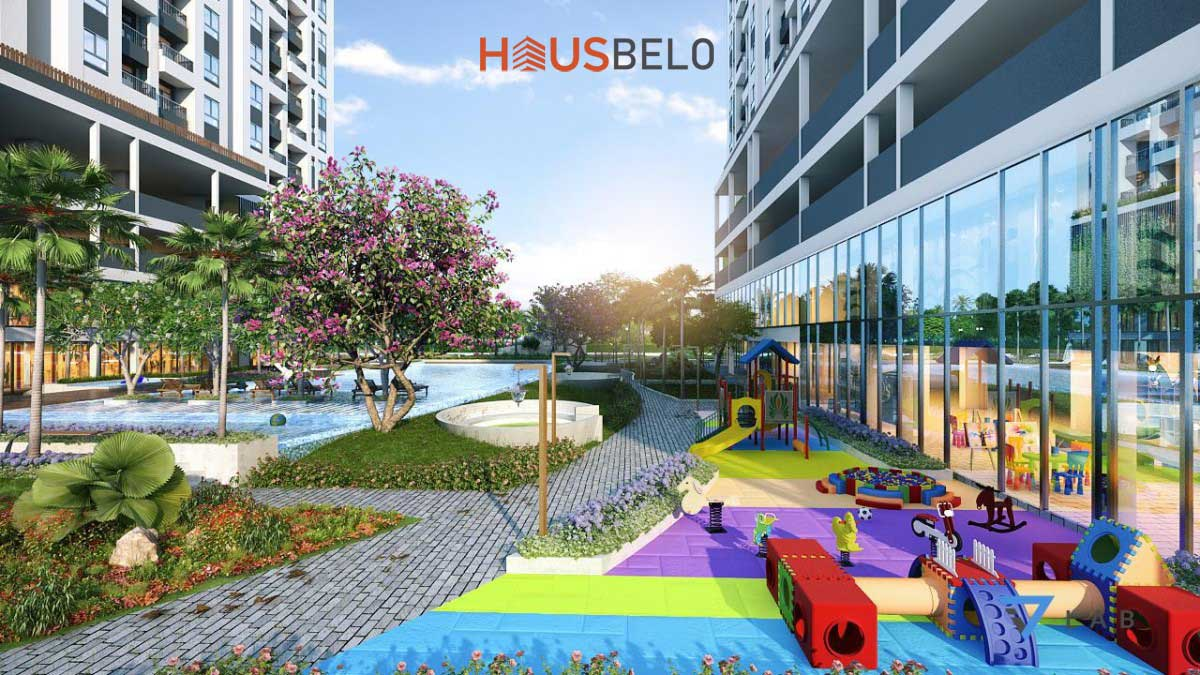 cong vien noi khu du an hausbelo - Dự án căn hộ Haubelo Quận 9