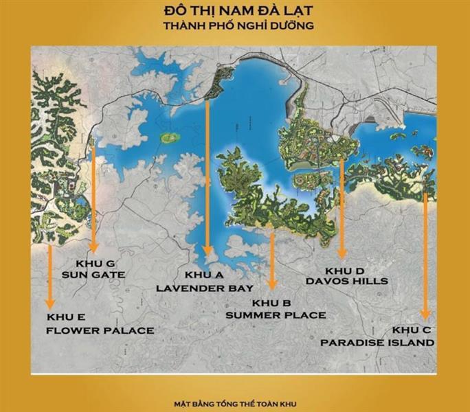 du an khu do thi nam da lat 36 1 - Dự án nghĩ dưỡng Nam Đà Lạt tạo lửa cho bất động sản Đà Lạt