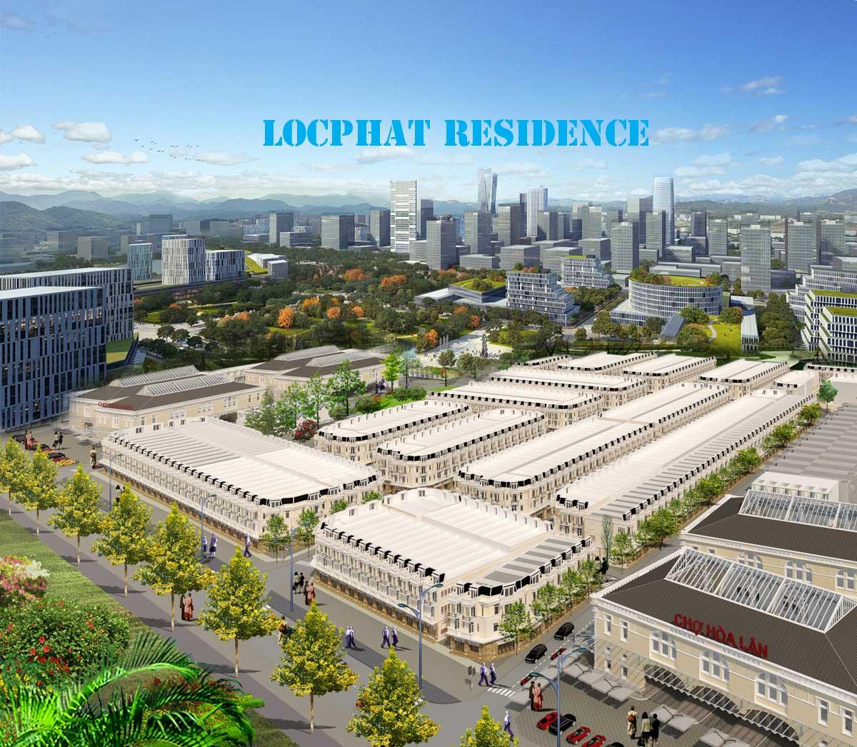 Dự án đất nền Lộc Phát Residence Bình Dương, Hòa Lân,Thuận An