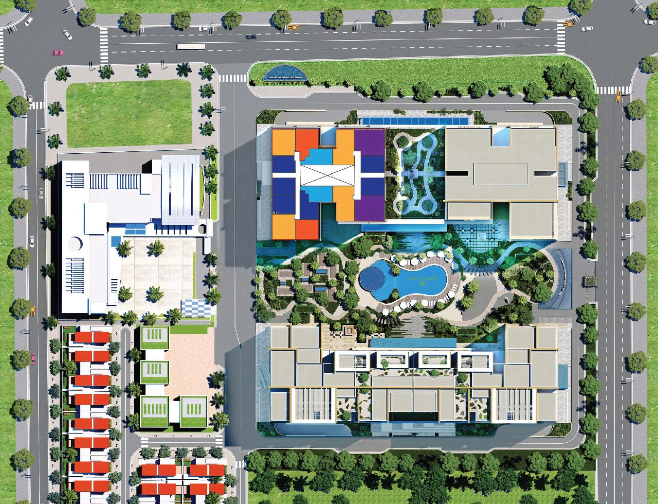 Mặt bằng tổng thể dự án Lux Riverview Quận 7