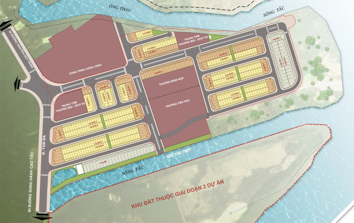 mat bang du an green city quan 9 - Dự án đất nền Green City Quận 9