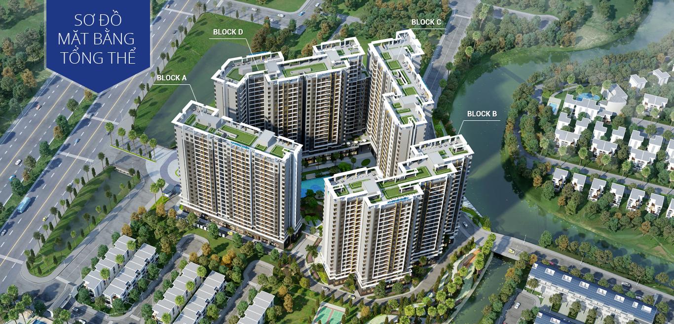 Phối cảnh dự án căn hộ Safira Khang Điền quận 9