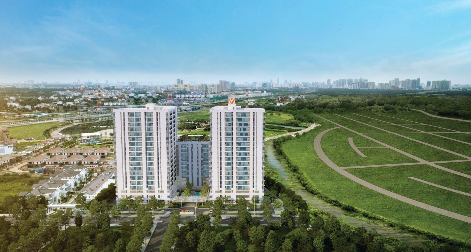 Dự án căn hộ chung cư Hausbelo quận 9, đường Võ Chí Công, Phú Hữu, Quận 9