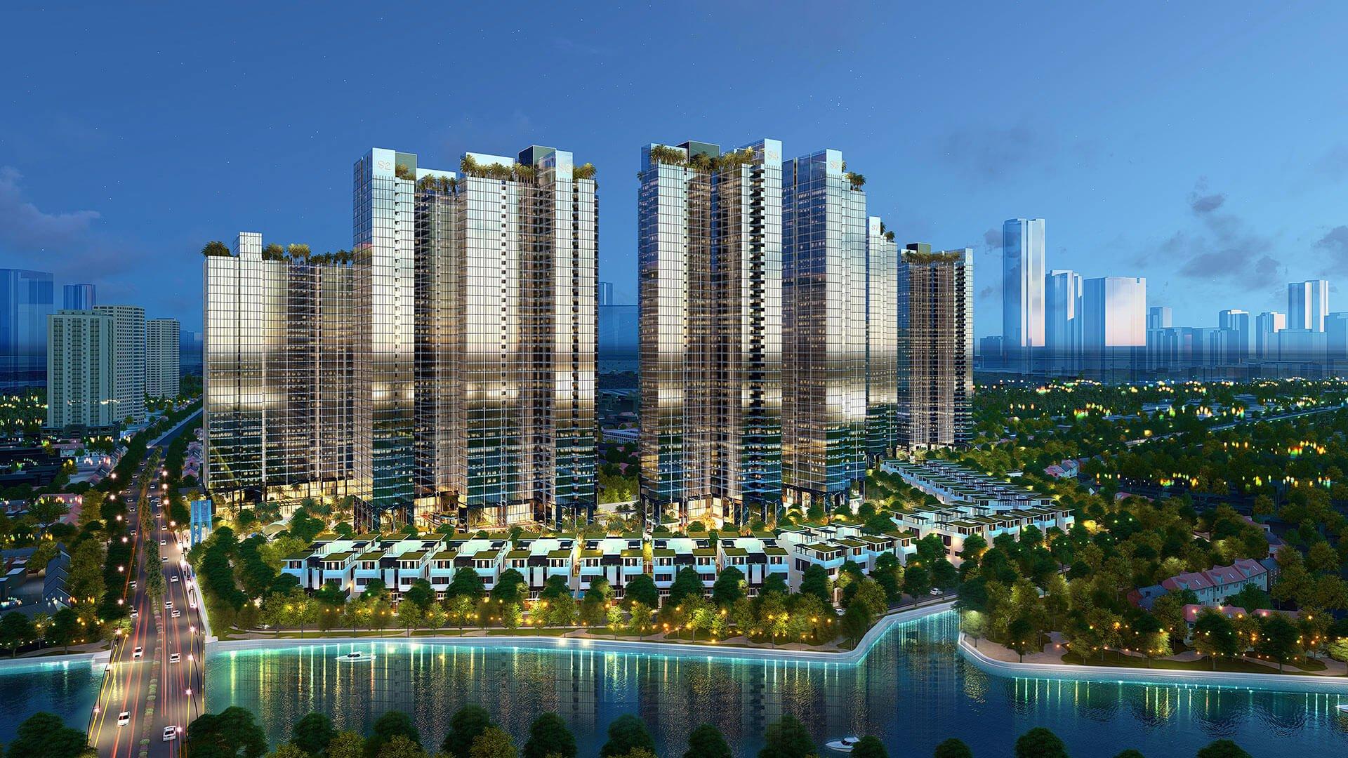 phoi canh du an can ho sunshine city sai gon quan 7 - Dự án căn hộ Sunshine City Sài Gòn