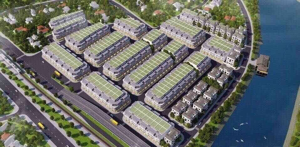 phoi canh du an south riverside nha be - Dự án đất nền South Riverside Nhà Bè – Điểm nóng cuối năm