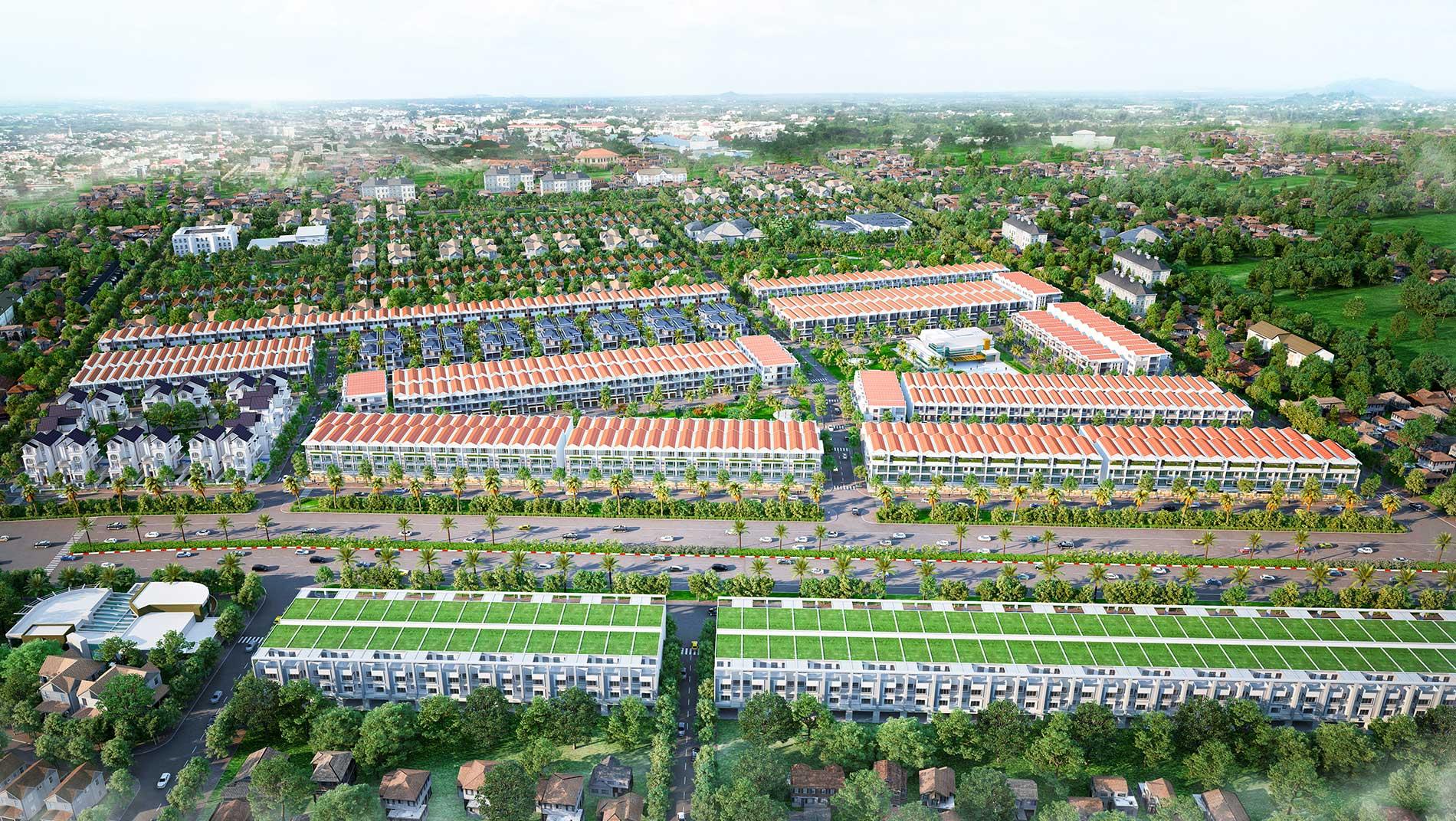 Dự án nhà phố Baria City Gate Bà Rịa Vũng Tàu