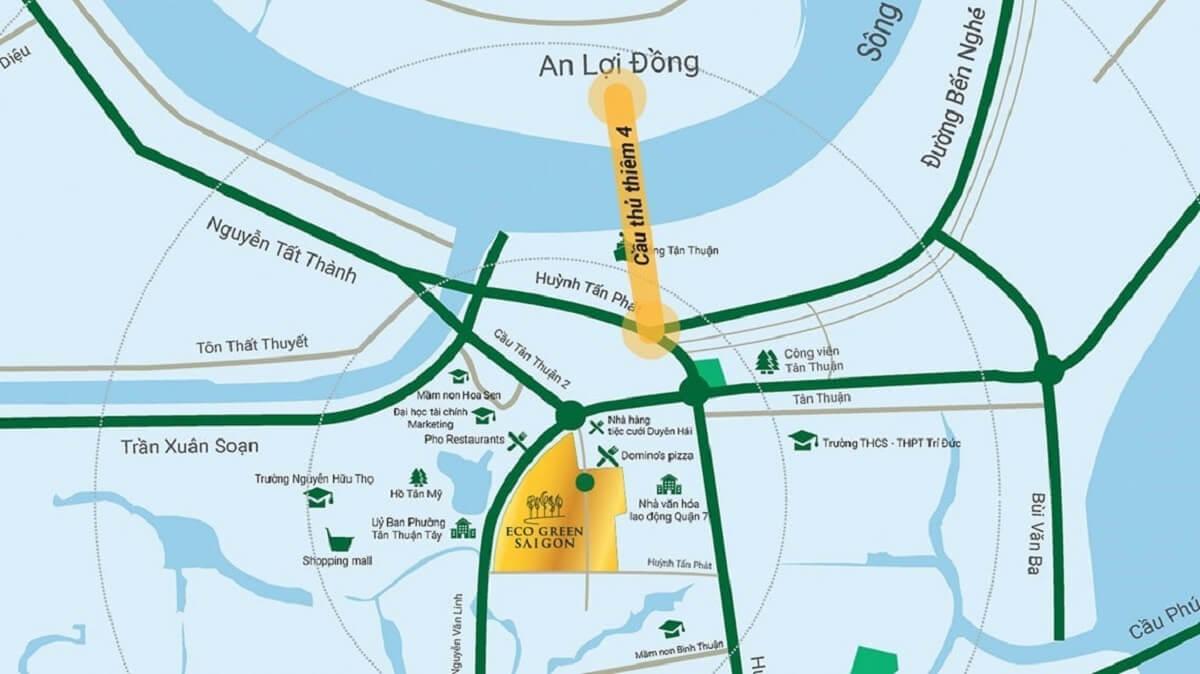 vi tri eco green saigon - Dự án căn hộ Eco Green City SaiGon