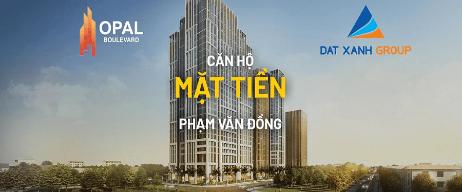 Dự án Opal Boulevard mặt tiền Phạm Văn Đồng - Bình Dương