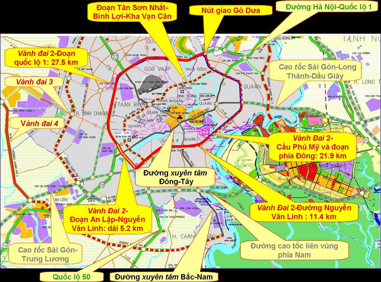 Cập nhật tiến độ đường Vành Đai 3 - Quy hoạch đường Vành Đai mới