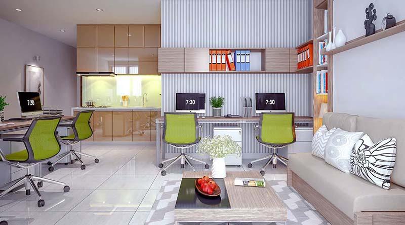 Thiết kế hiện đại của dự án Charmington T One Tân Sơn Nhất