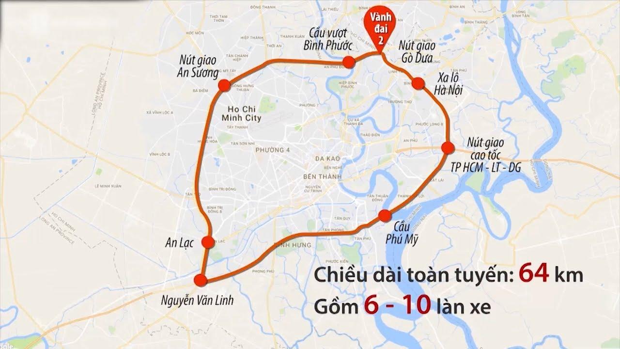 Quy hoạch dự án đường Vành Đai 2