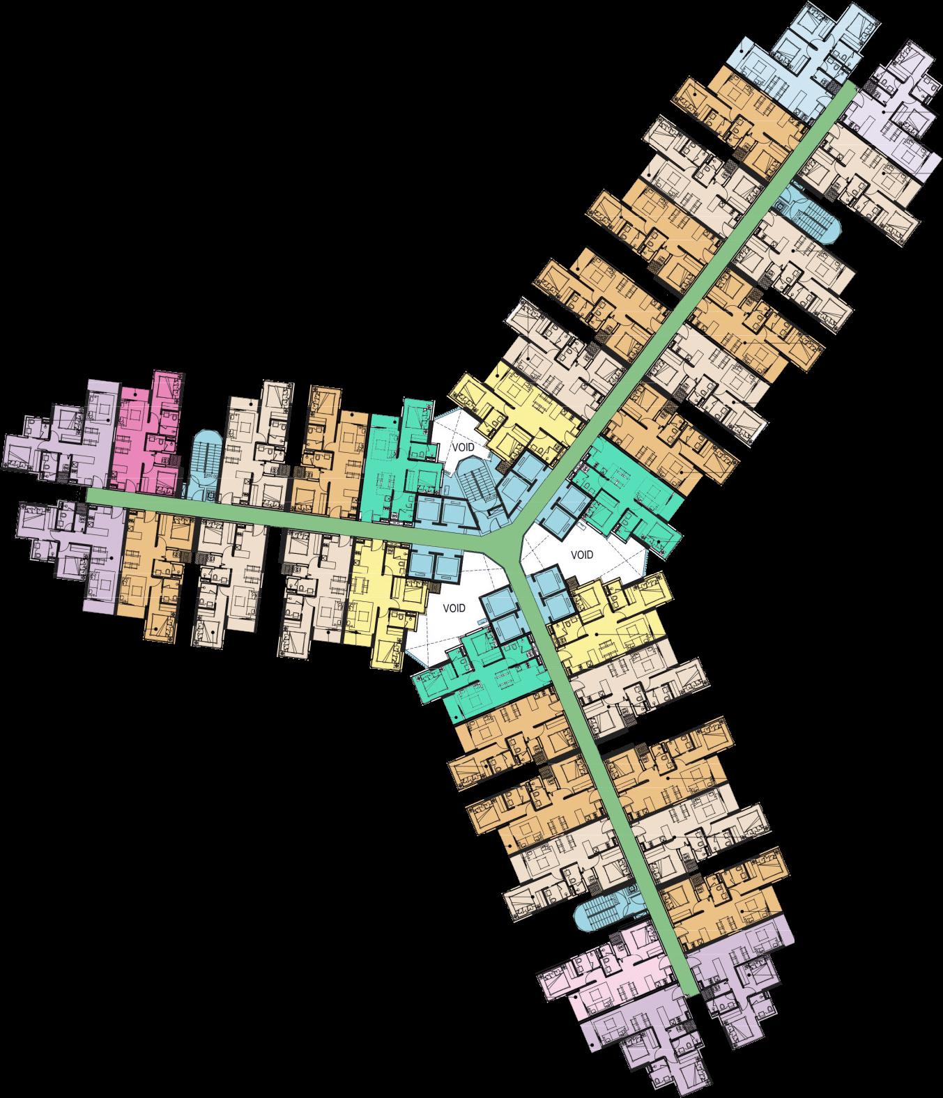 mat bang 06 - Dự án căn hộ Metro Star Quận 9