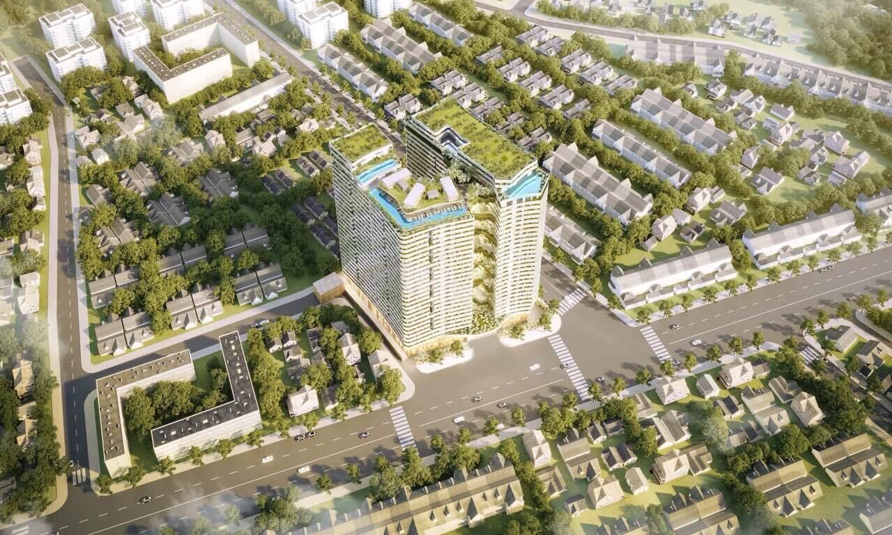 Phối cảnh dự án căn hộ Victoria Garden