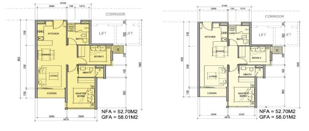 Layout Dự án căn hộ Metro Star Quận 9, Mặt tiền Xa Lộ Hà Nội
