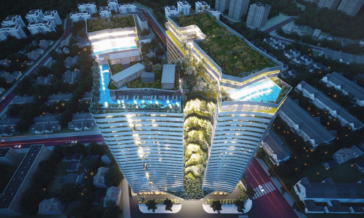 Phối cảnh dự án căn hộ Victoria Garden Bình Chánh