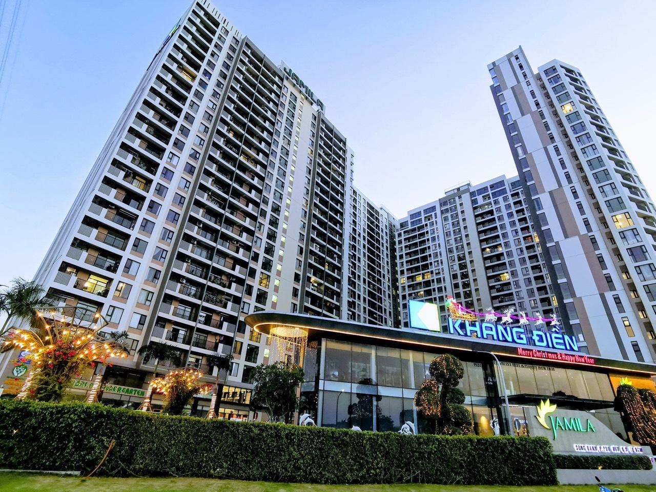 Dự án căn hộ Jamila Khang Điền quận 9