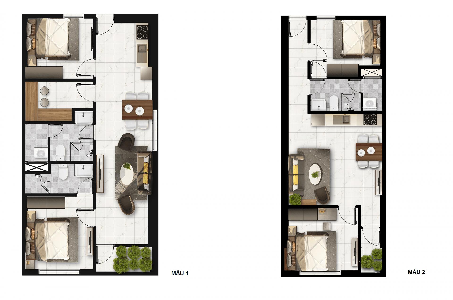 layout căn hộ napoleon caste - Dự án căn hộ Napoleon Castle Nha Trang