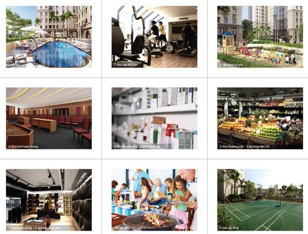 Tiện ích đa dạng và cao cấp hội tụ đầy đủ tại dự án Masteri Parkland Quận 2