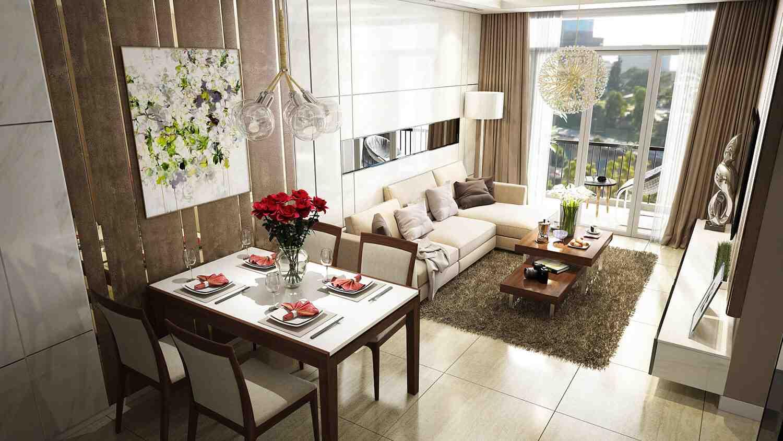 Thiết kế căn hộ chung cư Opal Boulevard Phạm Văn Đồng, Tỉnh Bình Dương - Hình Ảnh Minh Họa