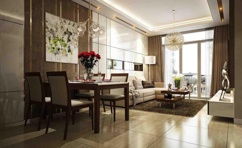 Opal Boulevard - Căn hộ mẫuThiết kế căn hộ chung cư Opal Boulevard Phạm Văn Đồng, Tỉnh Bình Dương - Hình Ảnh Minh Họa