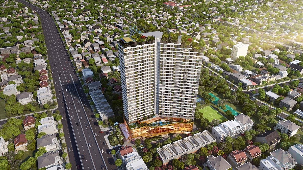 Dự án căn hộ D-Homme, đường Hồng Bàn, Quận 6