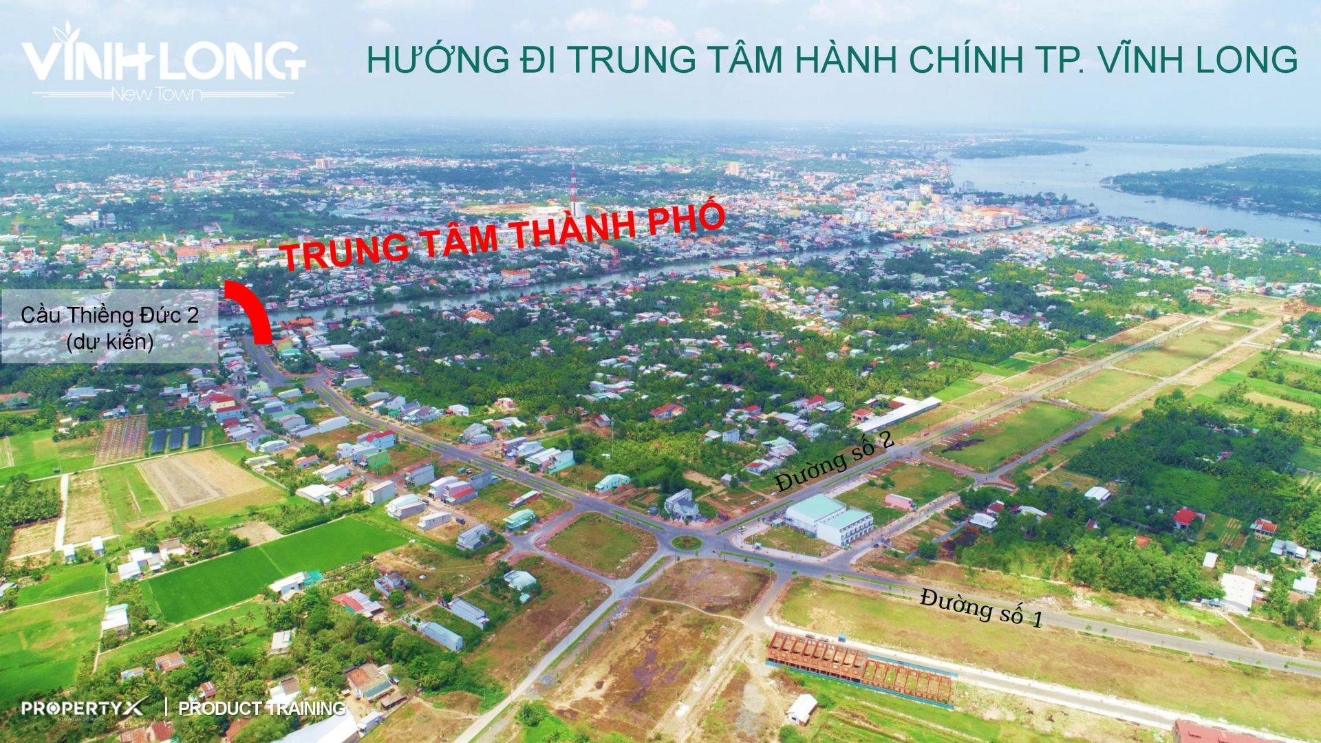 flycam Newtown Vinh Long 2 1 - DỰ ÁN ĐẤT NỀN VĨNH LONG NEW TOWN