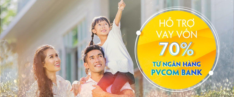 Ngân hàng PVCom Bank hỗ trợ vay tới 70% giá trị HĐ khi mua nhà tại khu đô thị Happy Home Cà Mau