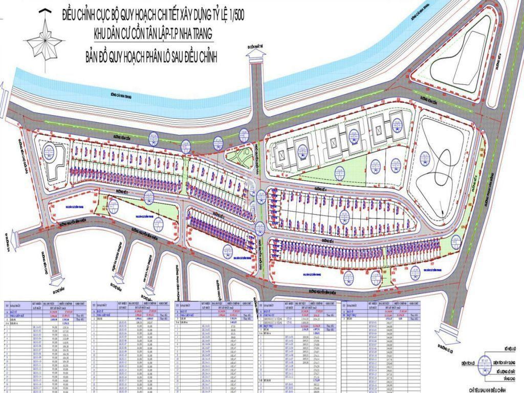 Đất Nền Shophouse Cồn Tân Lập Nha Trang - Bảng giá và Chính sách ưu đãi 2021 2