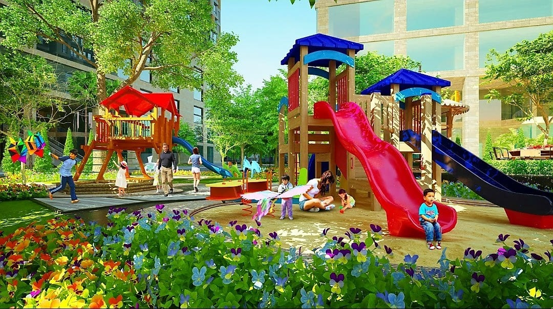 Tiện ích nội khu dự án City Gate 4 quận 8