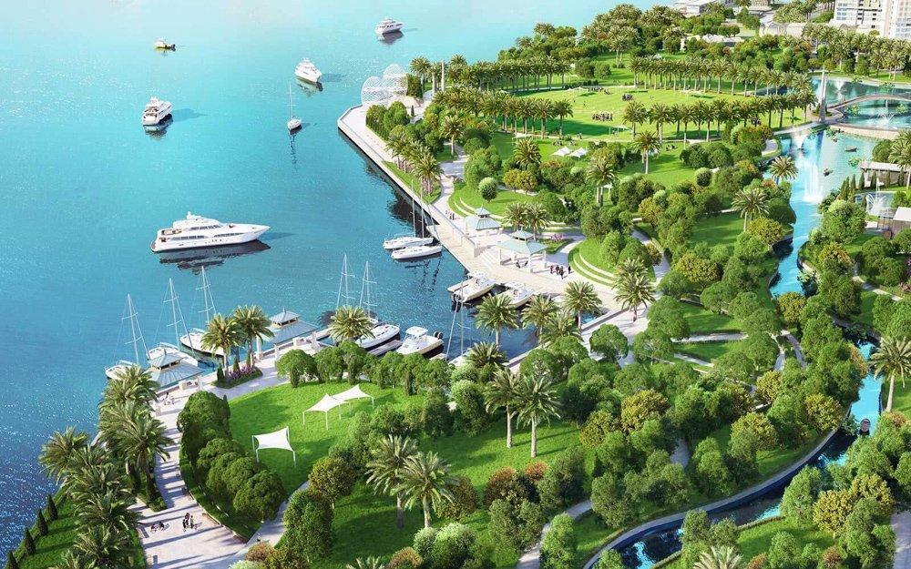 Phối cảnh dự án đất nền Cam Ranh City Gate