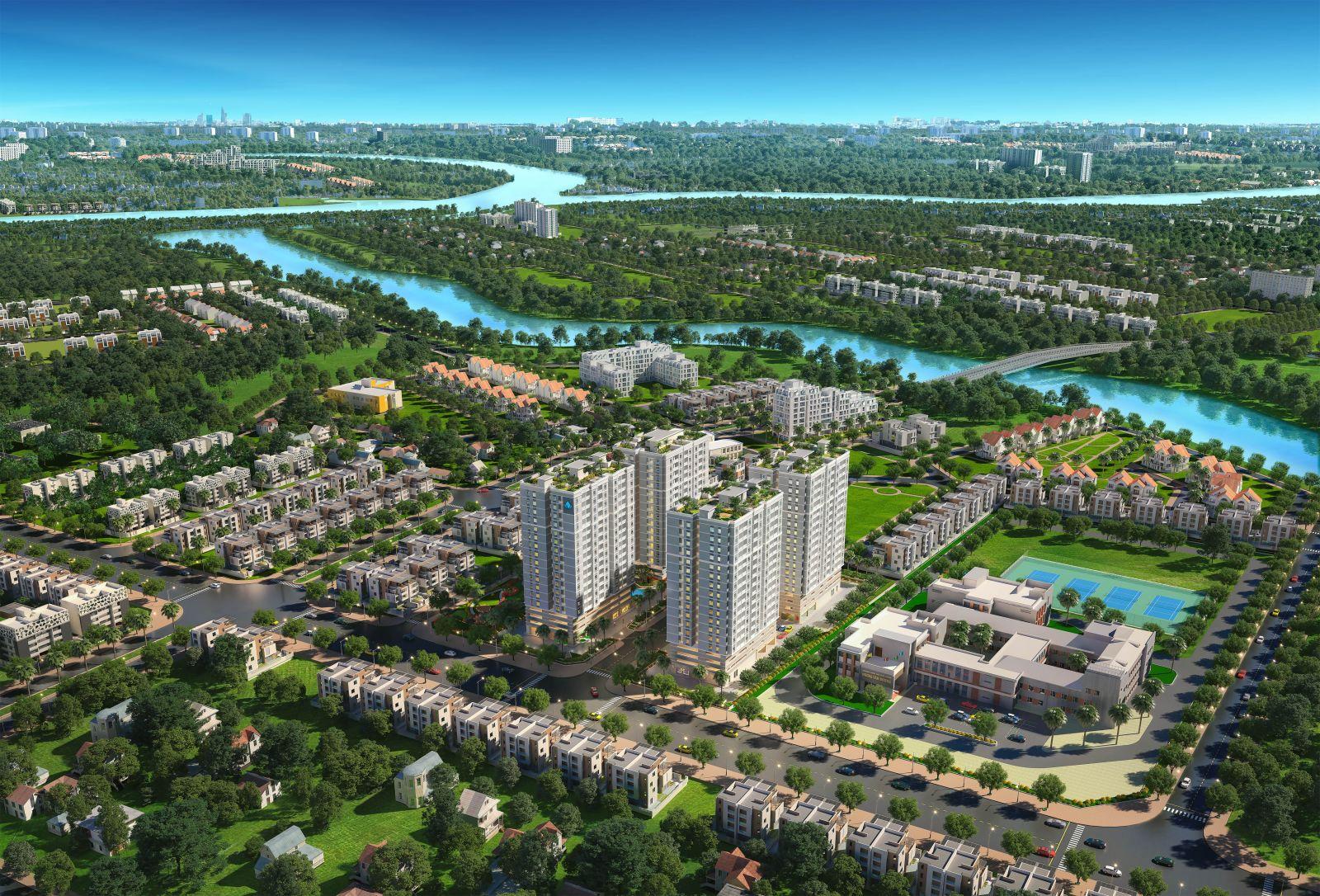 Phối cảnh dự án căn hộ chung cư Mường Thanh Gò Vấp