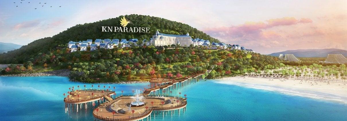 Phối cảnh dự án đất nền KN Paradise Cam Ranh Nha Trang