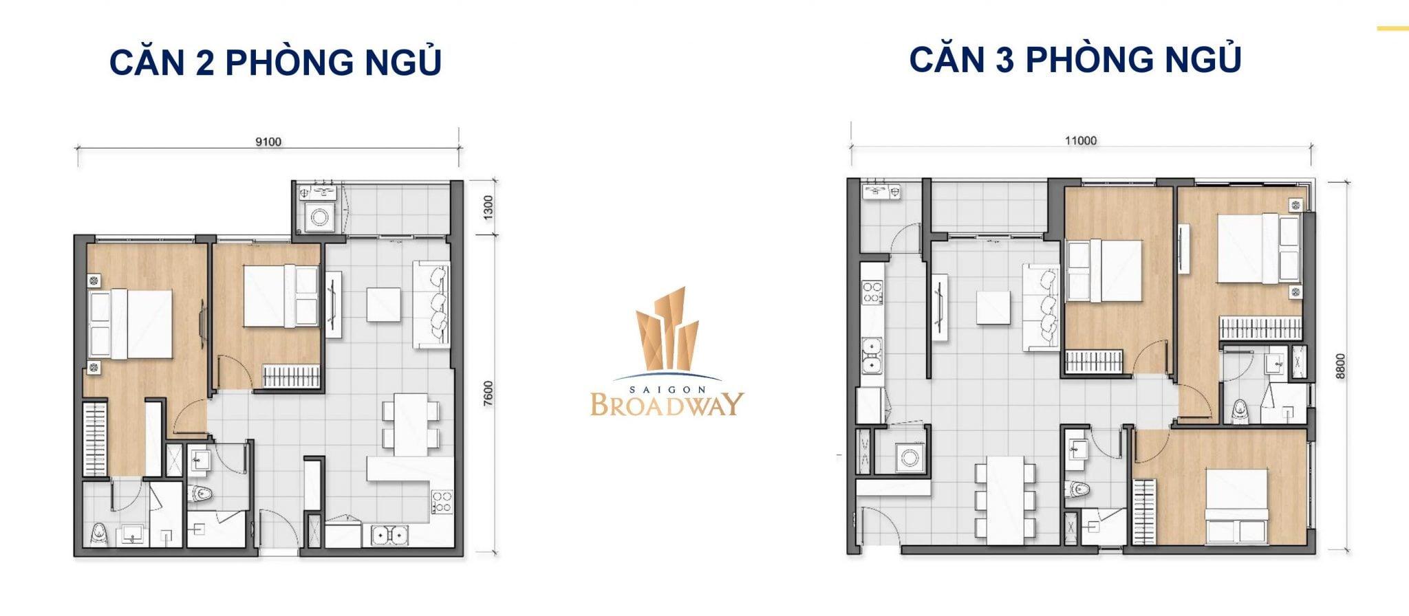 layout can ho saigon broadway quan 2 - DỰ ÁN CĂN HỘ SAIGON BROADWAY NOVALAND QUẬN 2