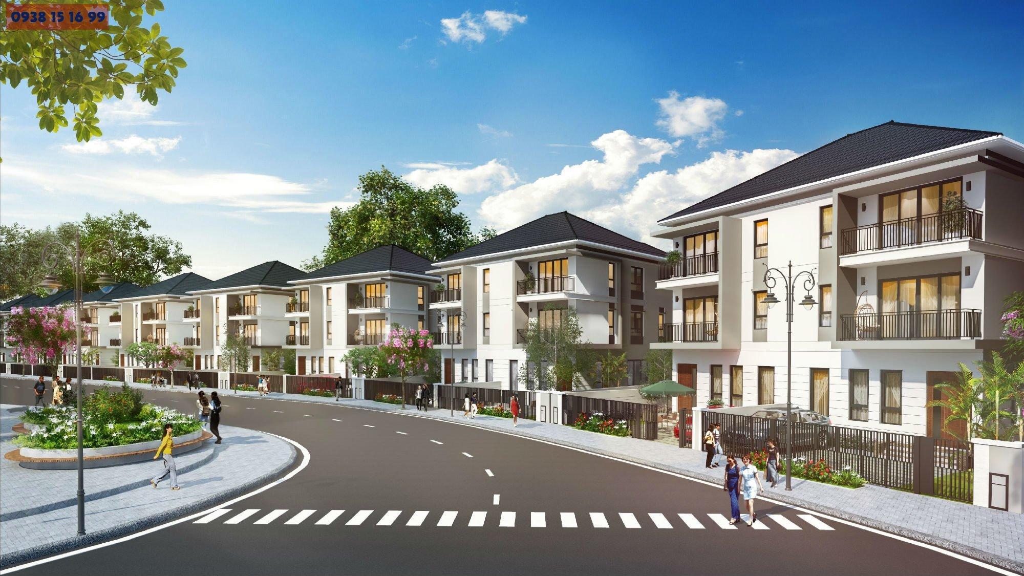 Phối cảnh dự án Palm Marina quận 9 của tập đoành Novaland