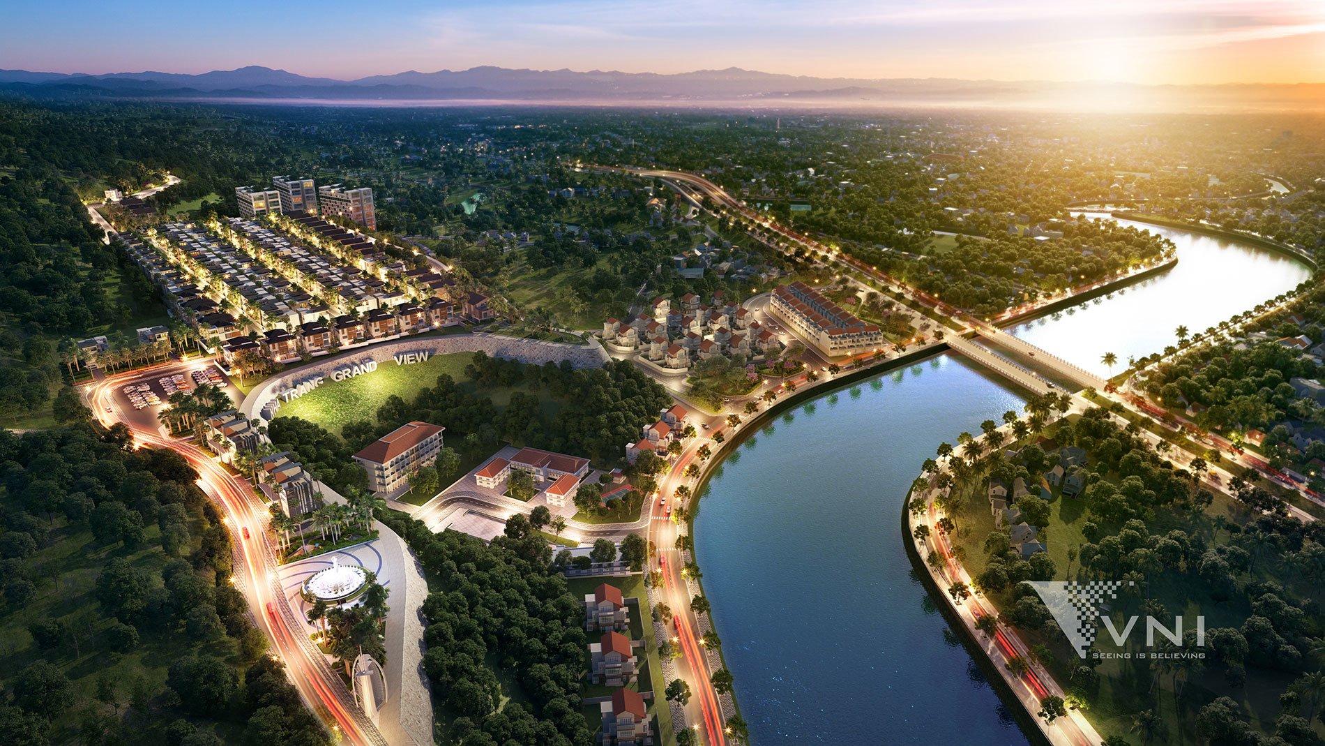 Phối cảnh mặt bằng dự án Nha Trang Grand View