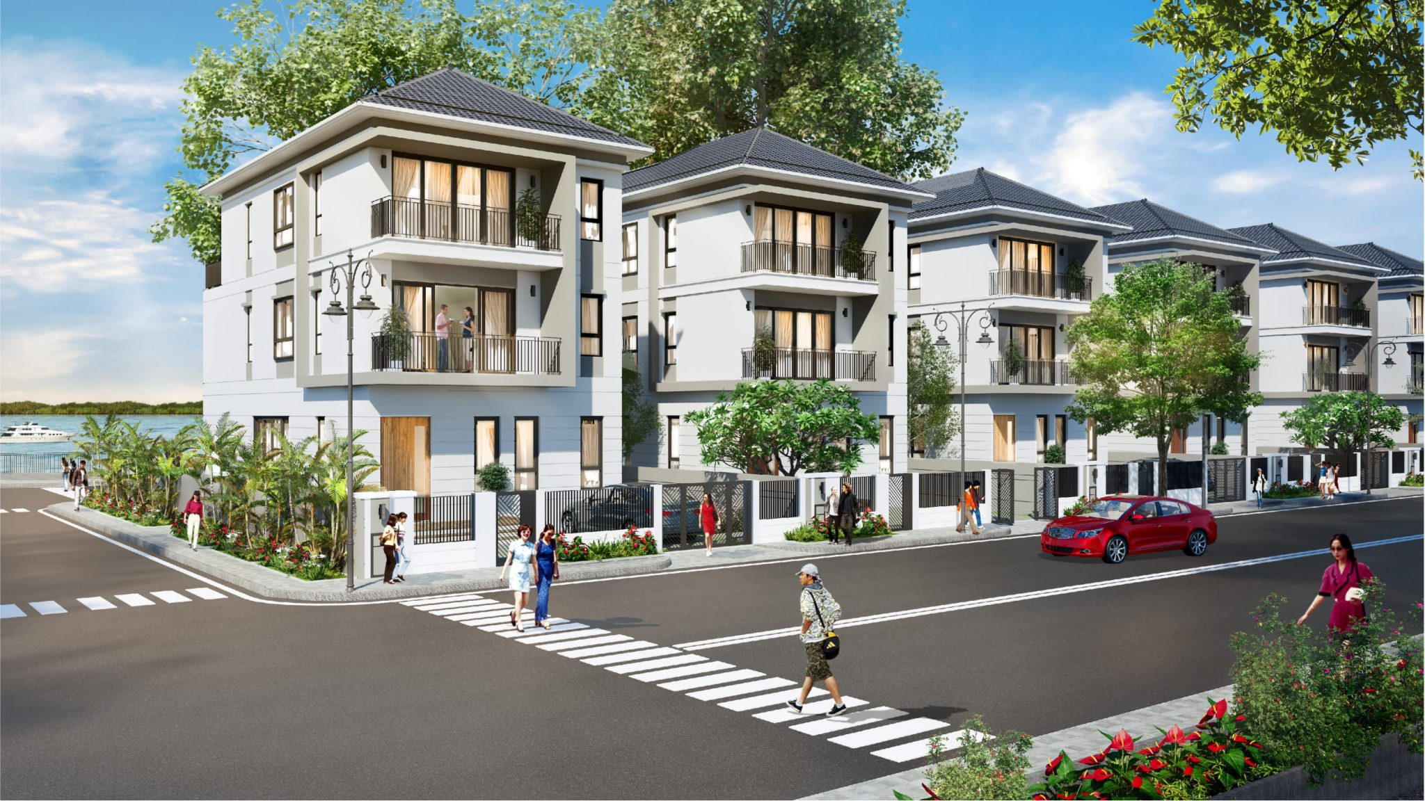 Phối cảnh dự án Palm Marina Quận 9