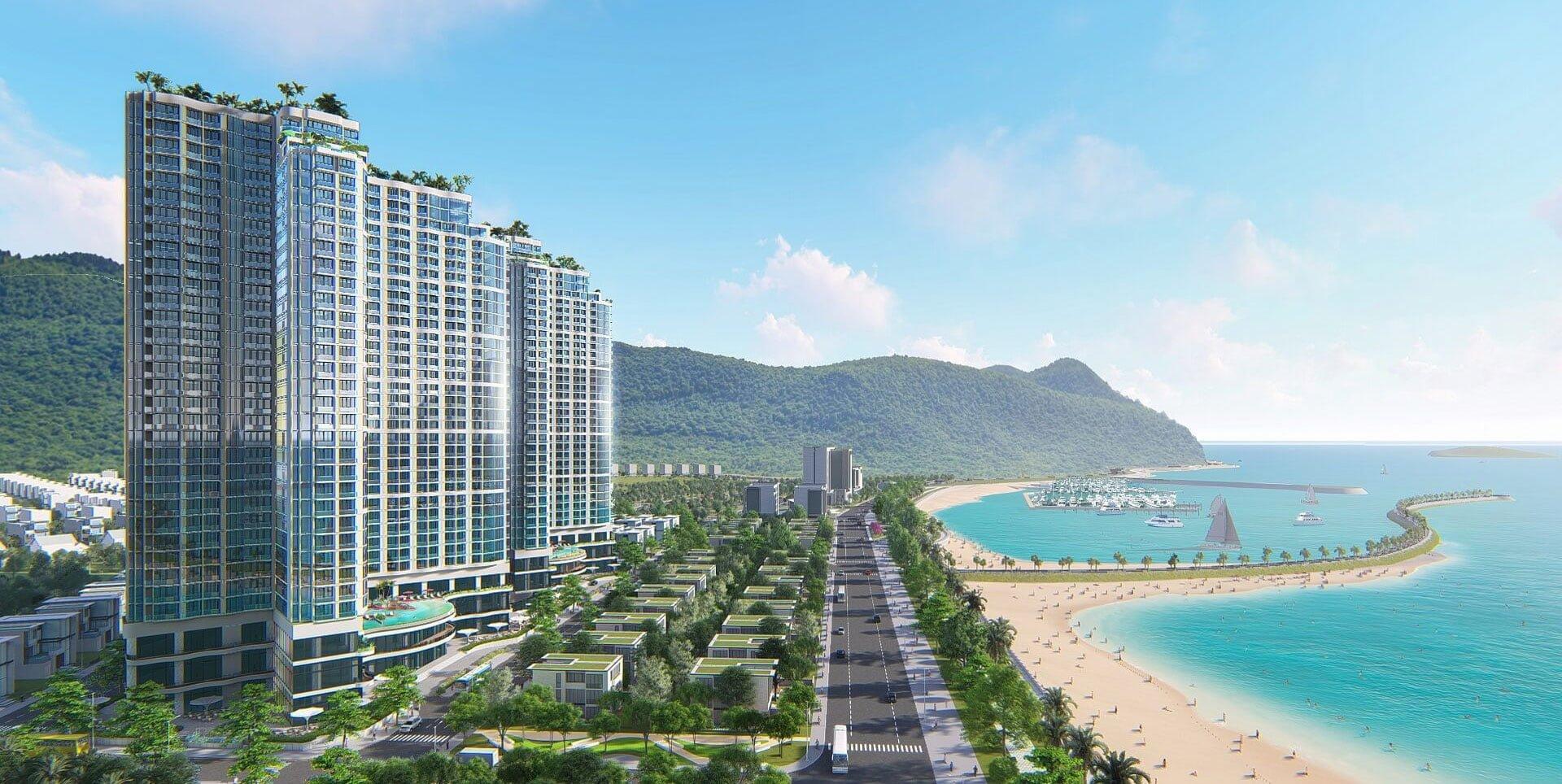 Phối cảnh dự án Crystal Marina Bay Nha Trang