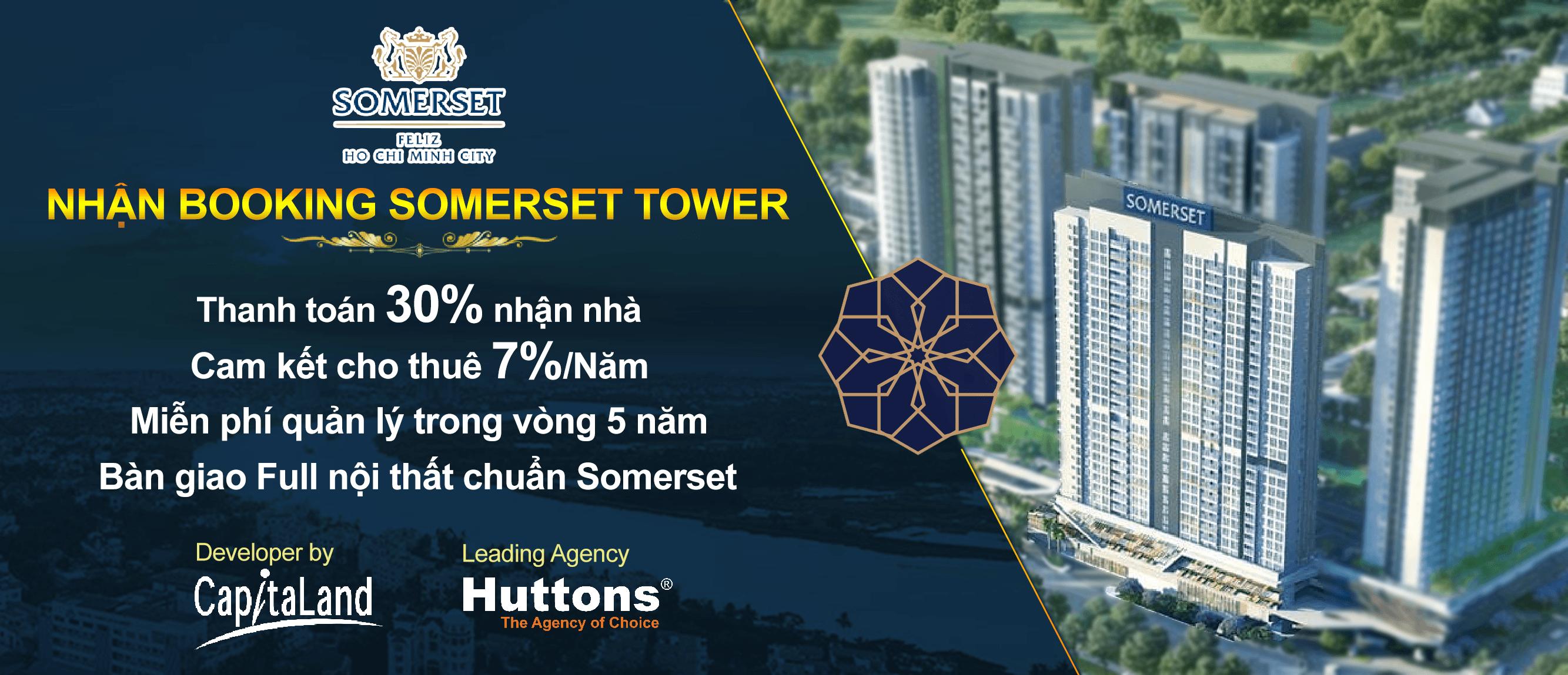 Cơ hội đầu tư tại block căn hook Somerset Tower