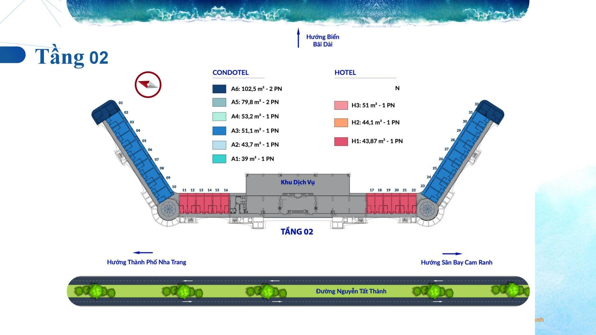 0029 - Dự án căn hộ condotel Cam Ranh Bay - Pearl Cam Ranh