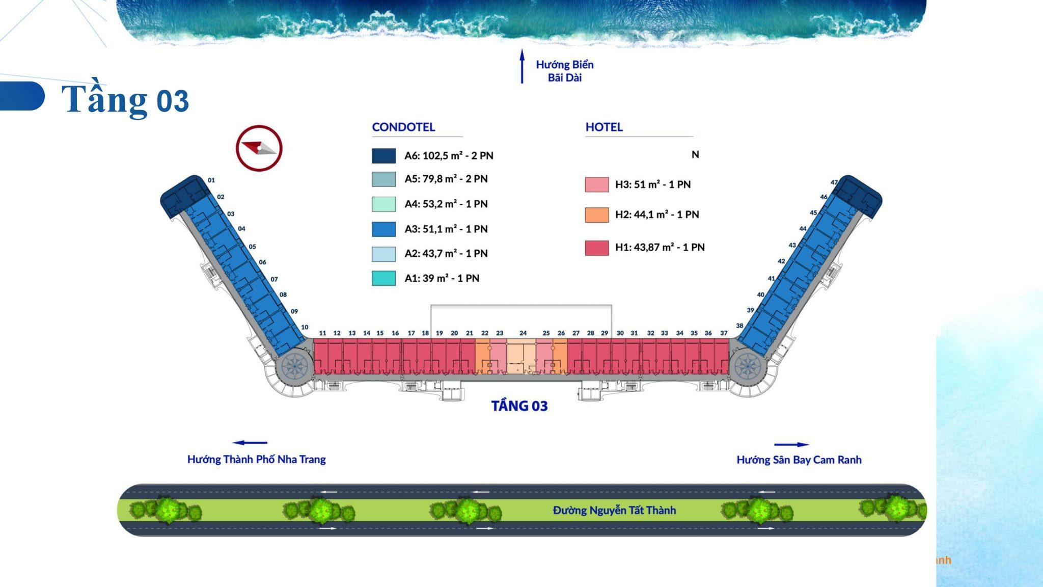 0030 - Dự án căn hộ condotel Cam Ranh Bay - Pearl Cam Ranh