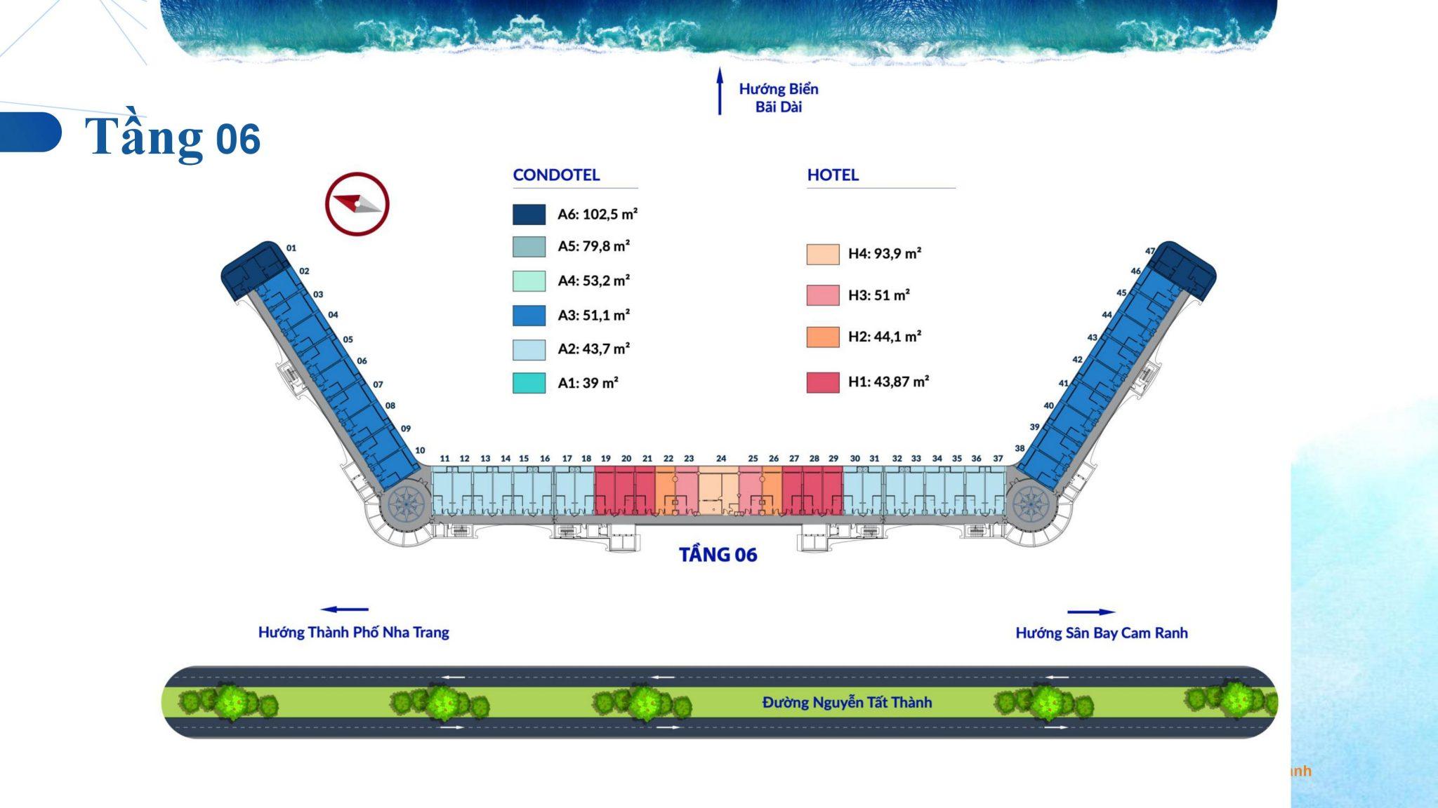 0033 - Dự án căn hộ condotel Cam Ranh Bay - Pearl Cam Ranh