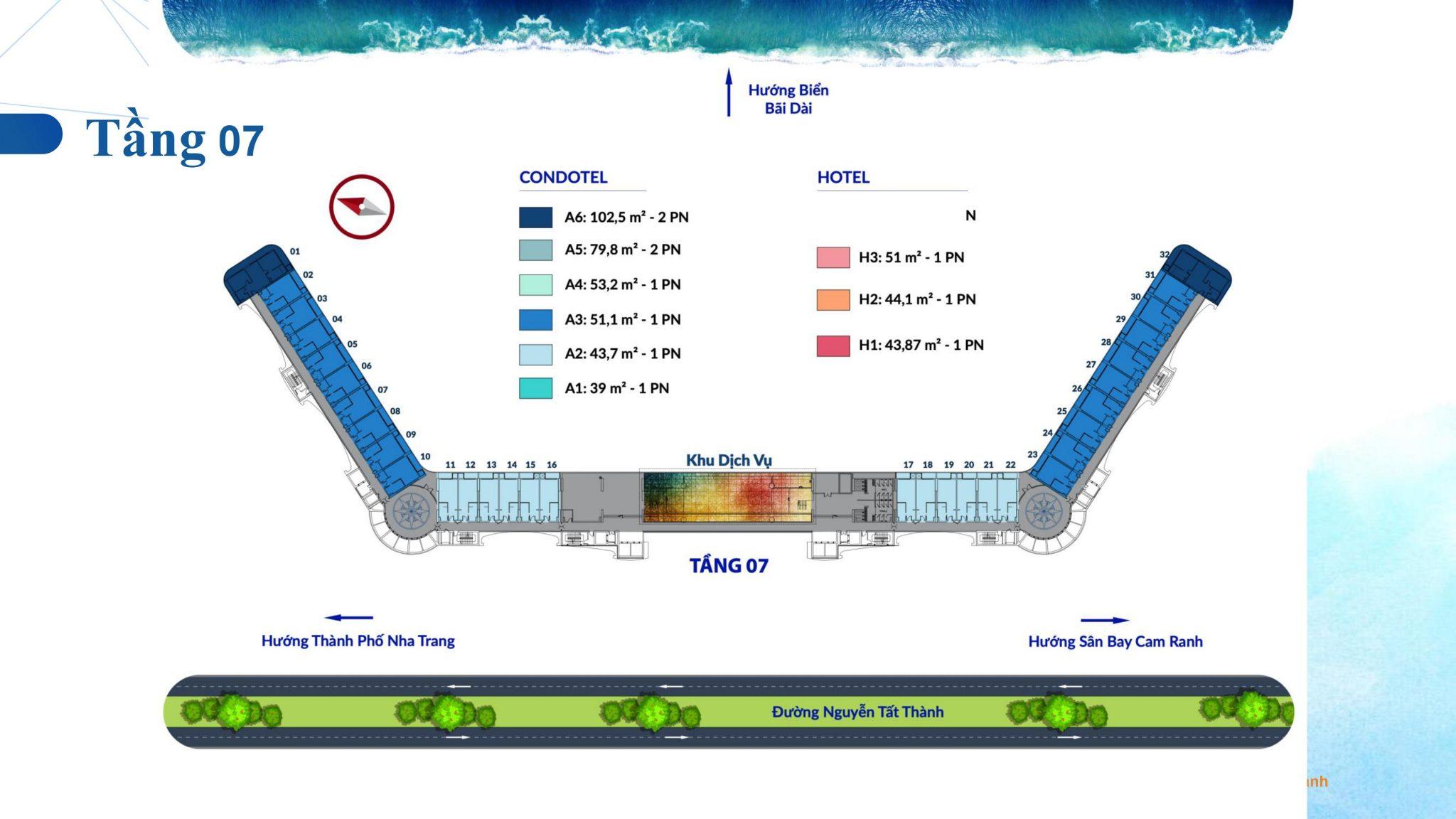 0034 - Dự án căn hộ condotel Cam Ranh Bay - Pearl Cam Ranh