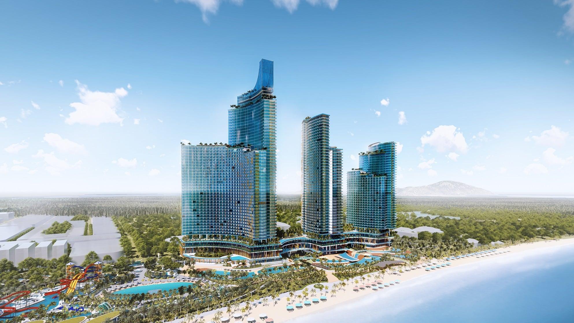 Phối cảnh dự án Sunpay Park Hotel & Resort Ninh Thuân