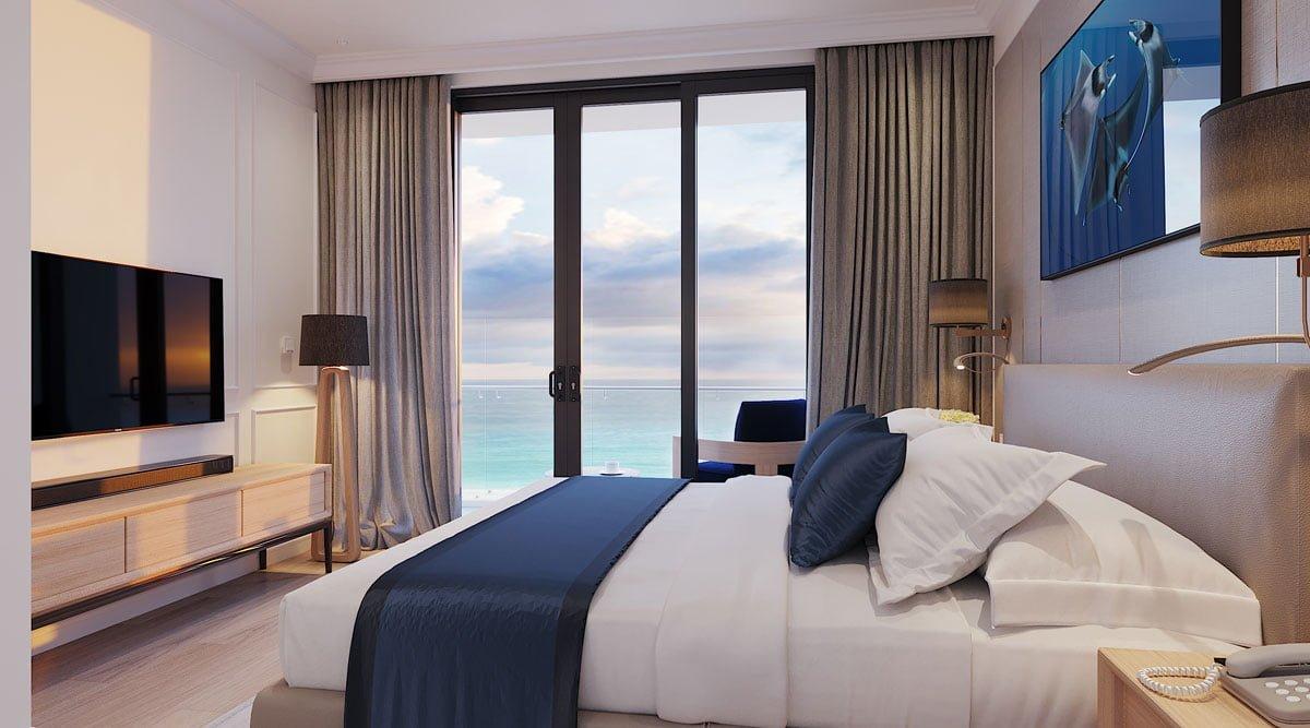 Căn hộ mẫu của dự án Sunbay Park Hotel & Resort Phan Rang
