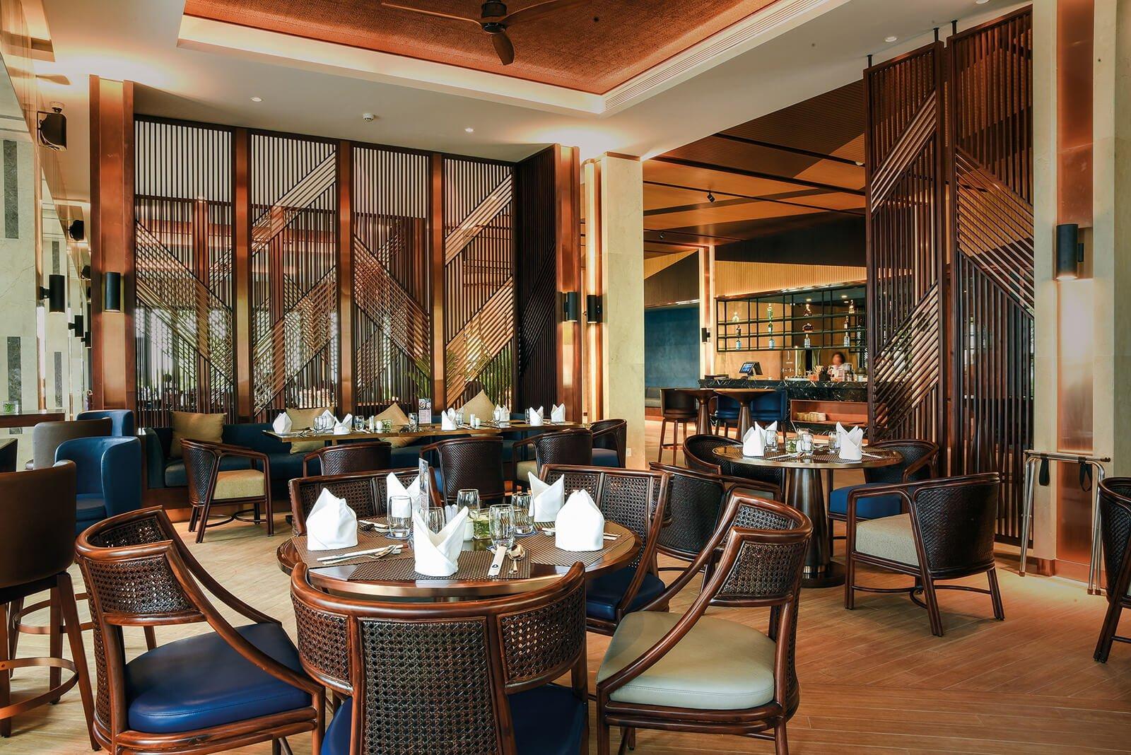 Trung tâm ẩm thực sang trọng tại khu nghĩ dưỡng Sunbay Ninh Thuận