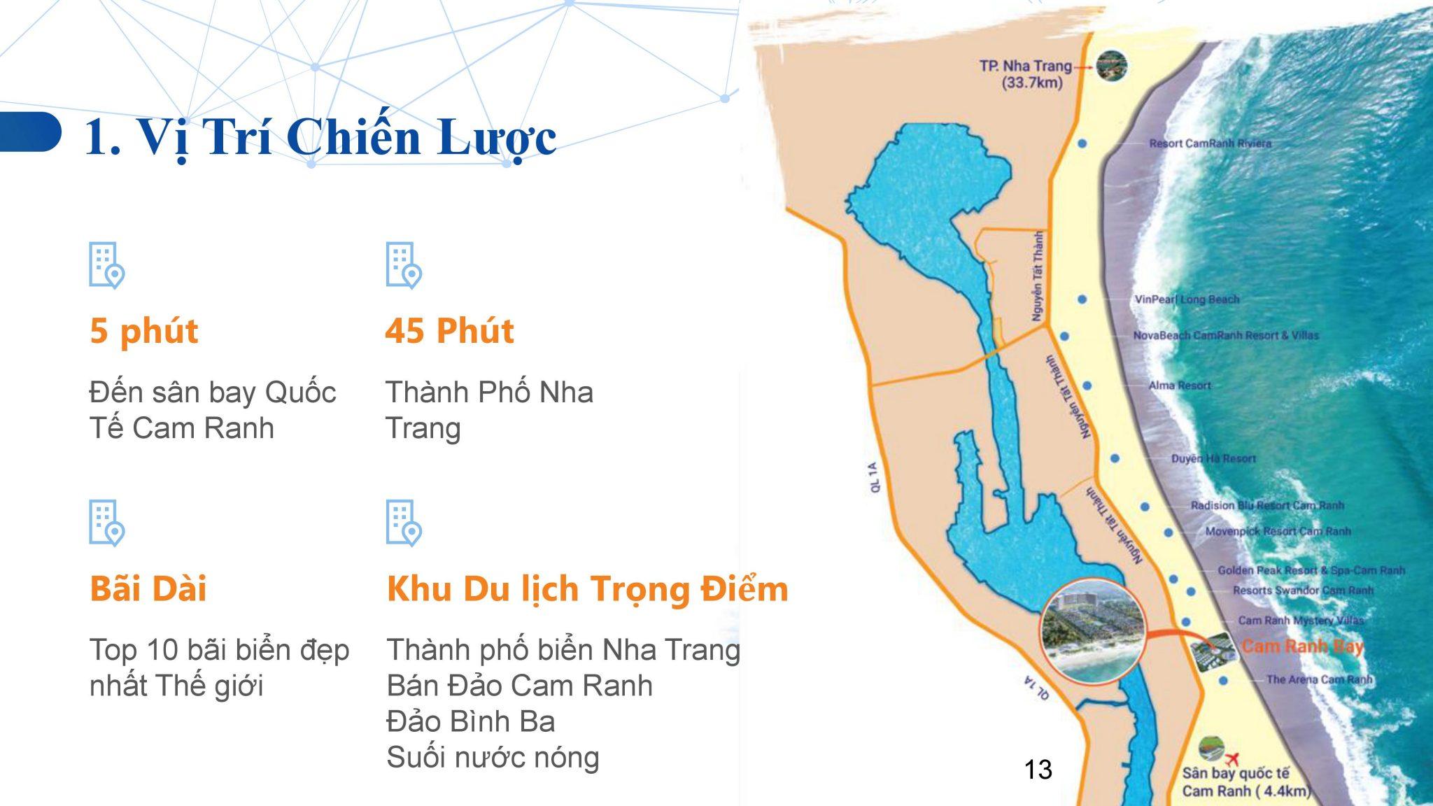 vi tri cam ranh bay 1 - Dự án căn hộ condotel Cam Ranh Bay - Pearl Cam Ranh