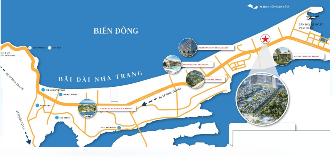 vi tri du an cam ranh bay - Dự án căn hộ condotel Cam Ranh Bay - Pearl Cam Ranh