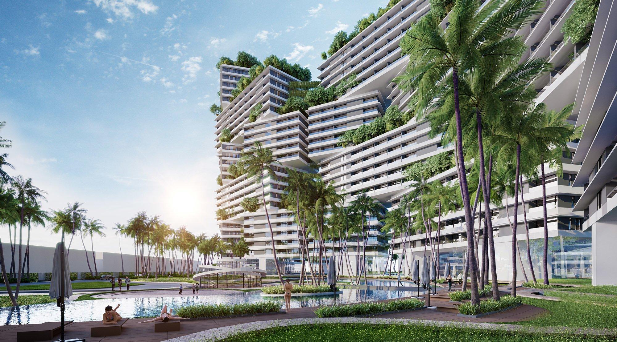 Kiến trúc và thiết kế dự án Thanh Long Bay Bình Thuận - DỰ ÁN THANH LONG BAY PHAN THIẾT TỈNH BÌNH THUẬN
