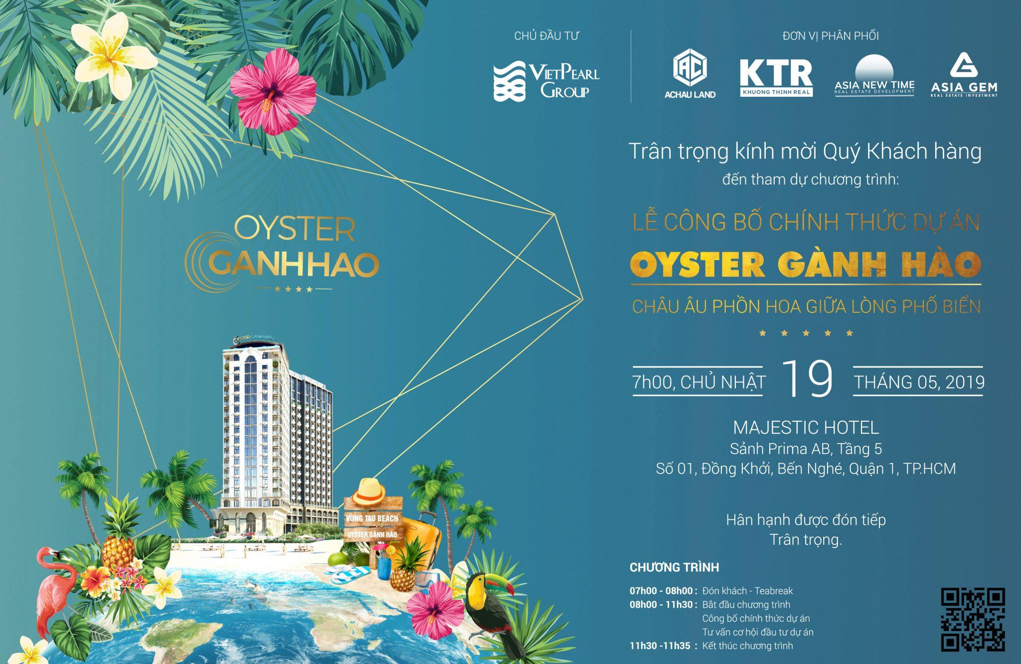 Dự án condotel Oyster Gành Hào Vũng Tàu